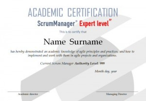 Scrum Manager Certification